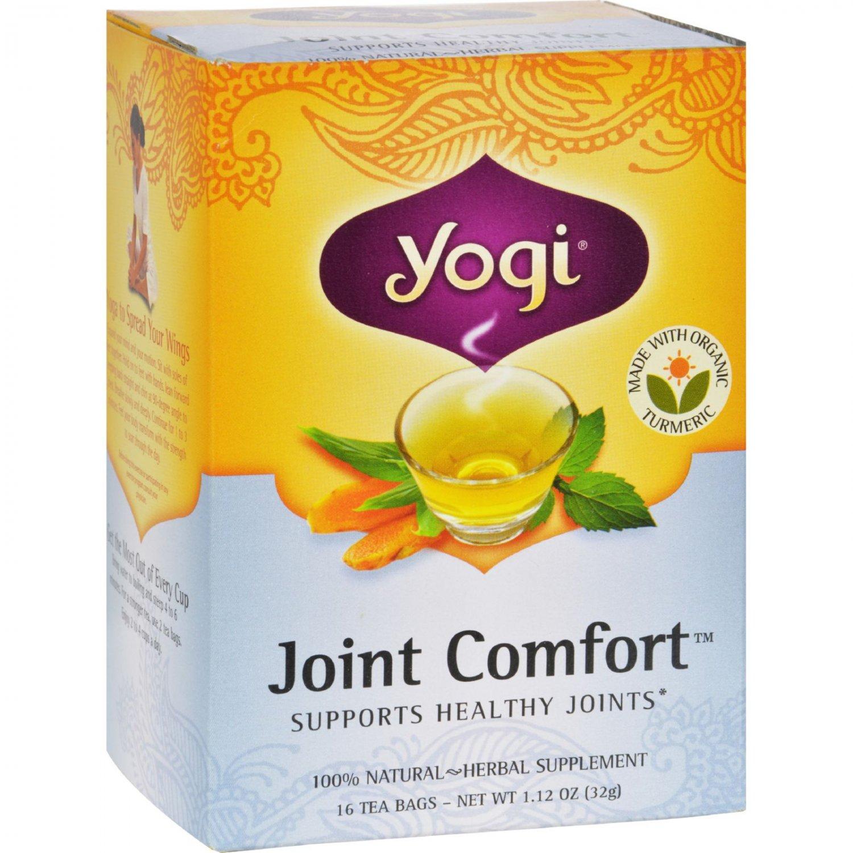 Yogi Joint Comfort Herbal Tea - 16 Tea Bags - Case of 6