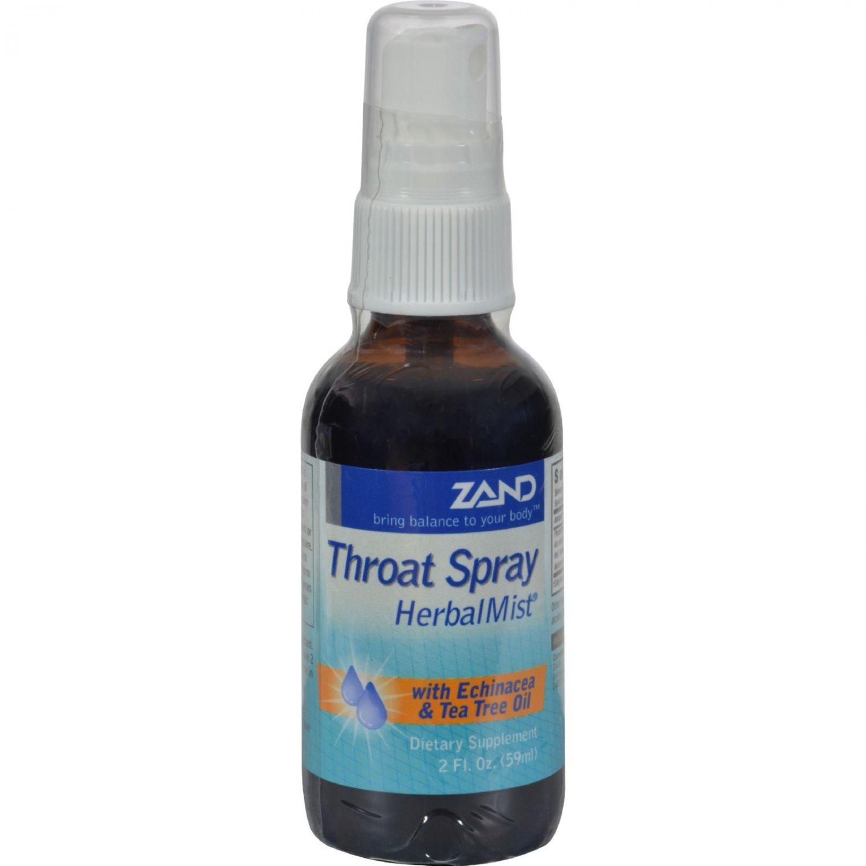 Zand Throat Spray Herbal Mist - 2 fl oz