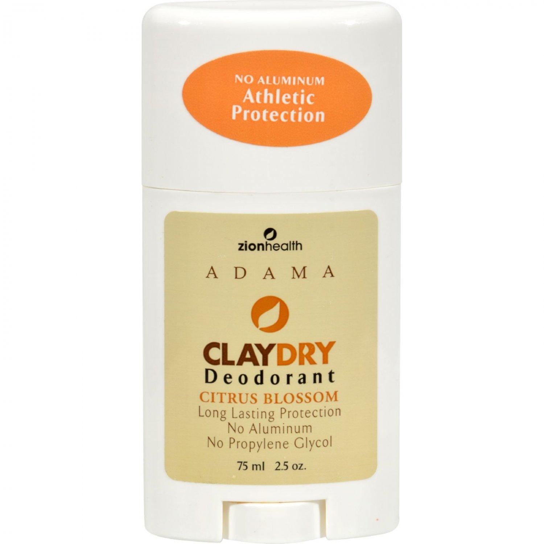 Zion Health Adama Minerals Clay Deodorant Citrus Blossom - 2.5 oz