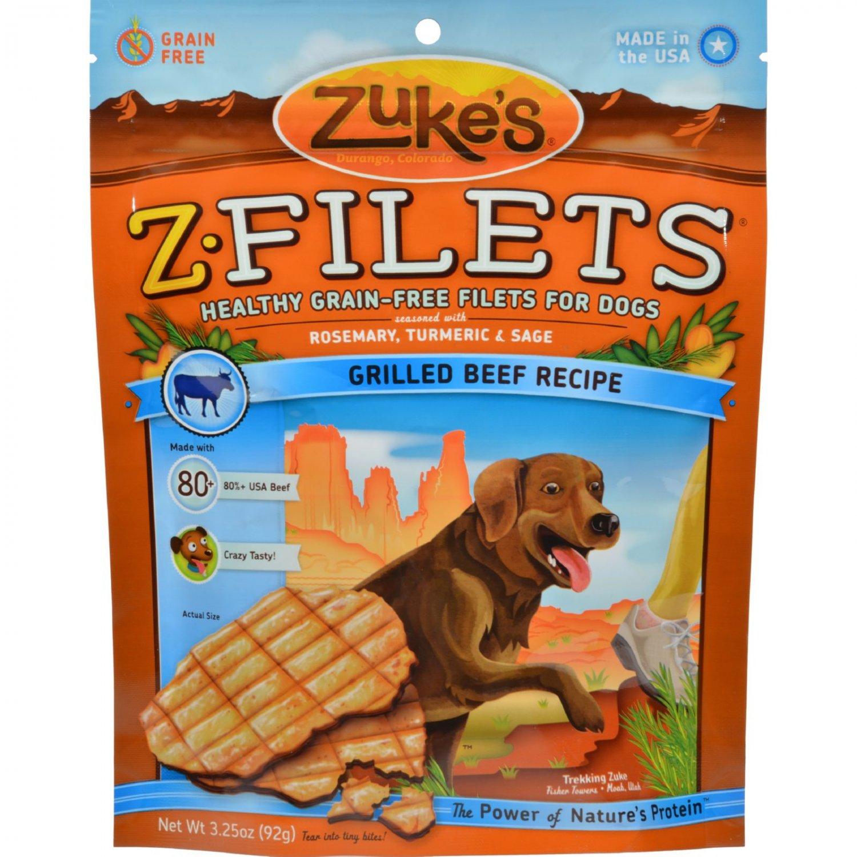 Zuke's Z Filets - Prime Beef - 3.25 oz