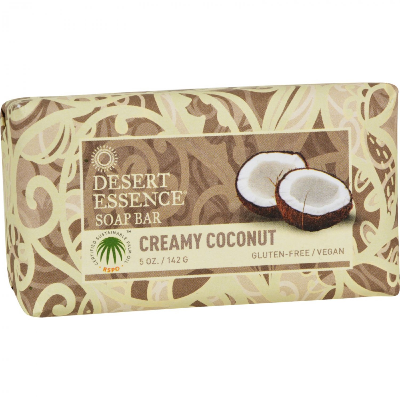 Desert Essence Bar Soap - Creamy Coconut - 5 oz