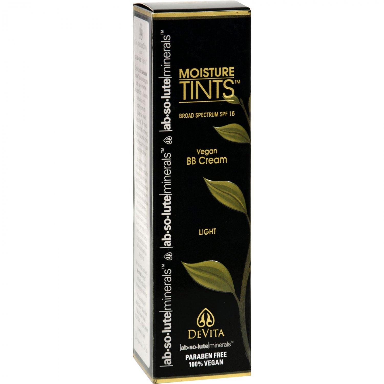 Devita Natural Skin Care Moisture Tint - Light - Spf 15 - 2.5 fl oz