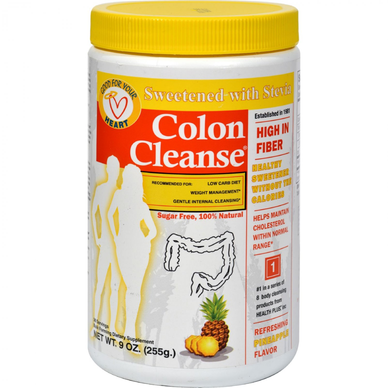 Health Plus Colon Cleanse - Pineapple Stevia - 9 oz