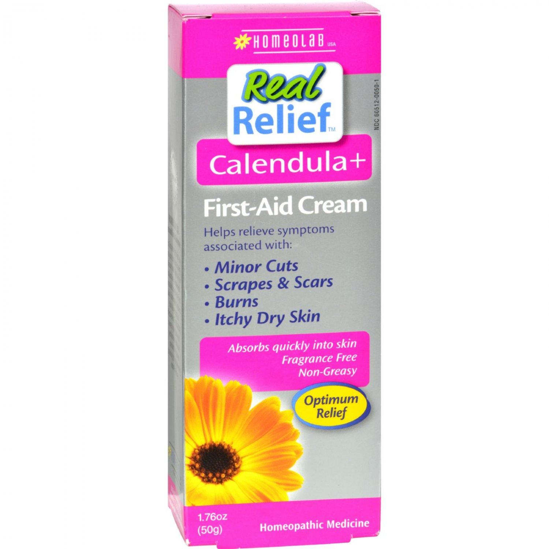 Homeolab USA Real Relief Calendula Pain Relief Cream - 1.76 oz