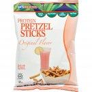 Kay's Naturals High Protein Pretzel Sticks - Orange - Case of 6 - 1.2 oz