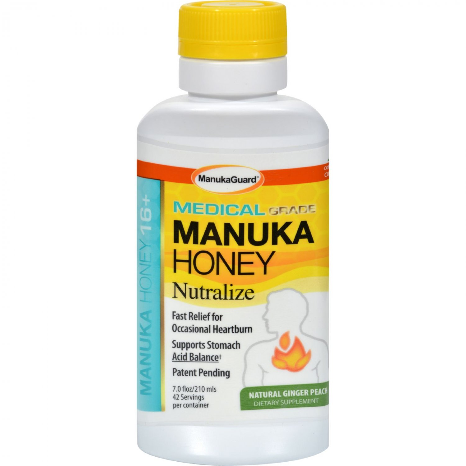 Manukaguard Nutralize - Ginger Peach - 7 fl oz
