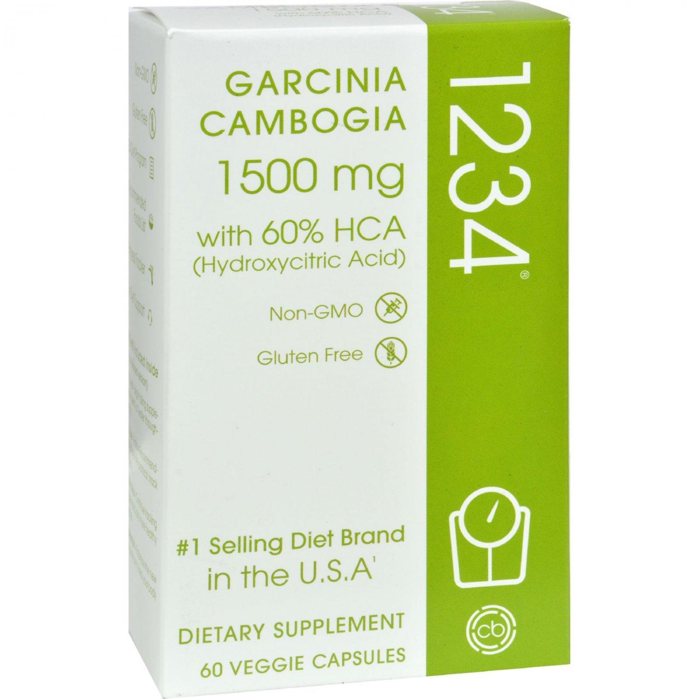 Creative Bioscience Garcinia Cambogia 1234 - 60 vcaps