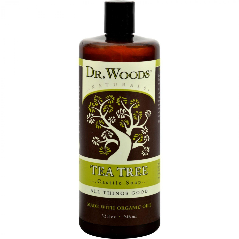 Dr. Woods Naturals Castile Liquid Soap - Tea Tree - 32 fl oz