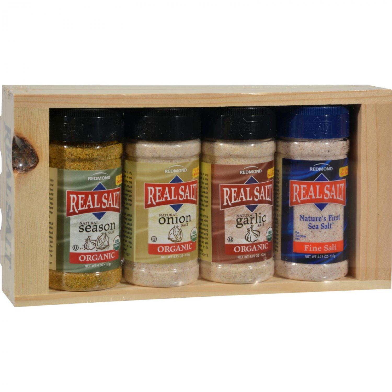 Real Salt Seasoning Gift Set - 4 Piece Set