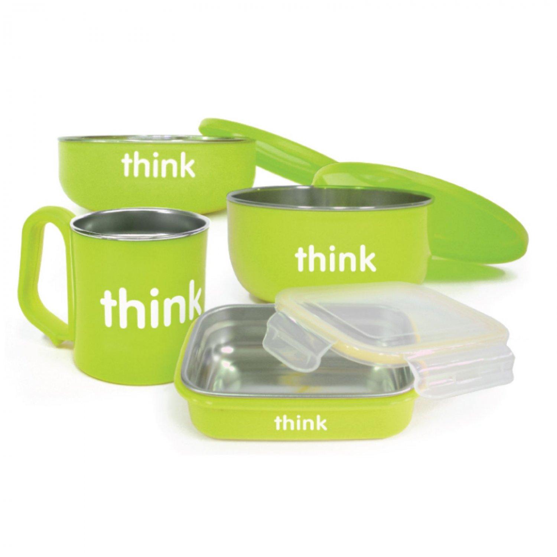 Thinkbaby Feeding Set - BPA Free - Green
