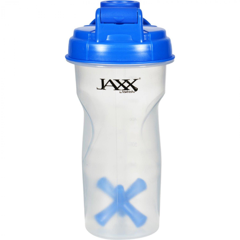 Fit and Fresh Jaxx Shaker - Blue - 28 oz