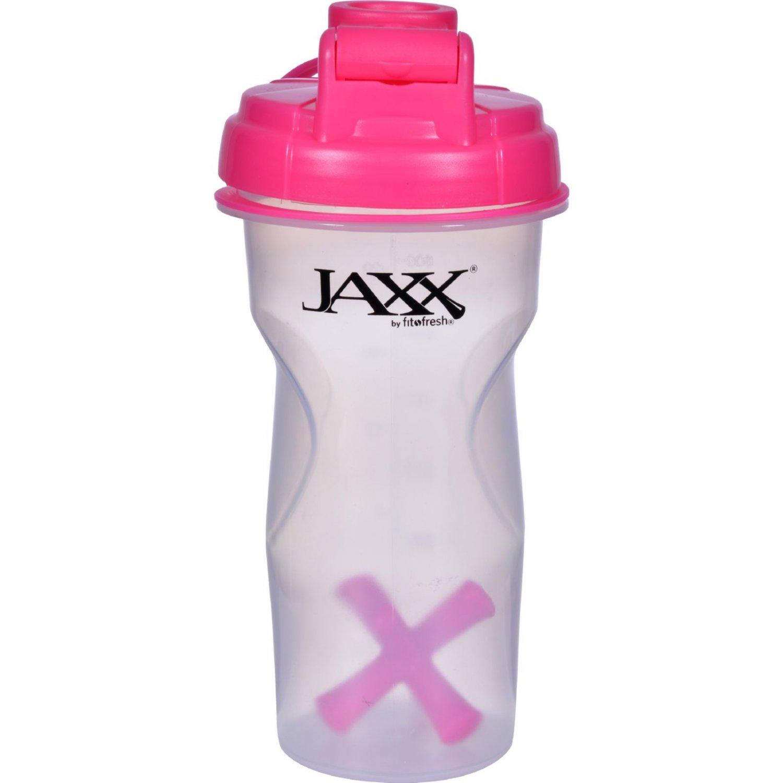 Fit and Fresh Jaxx Shaker - Pink - 28 oz