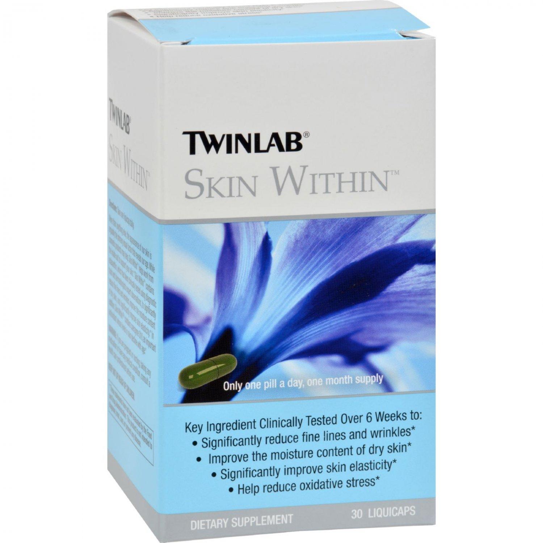 Twinlab Skin Within - 30 Liquicaps