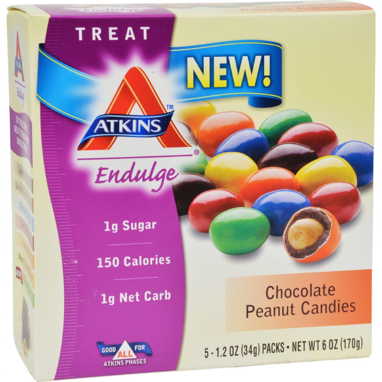 Atkins Endulge Bars - Chocolate Peanut Butter Cups - 1.2 oz - 5 ct