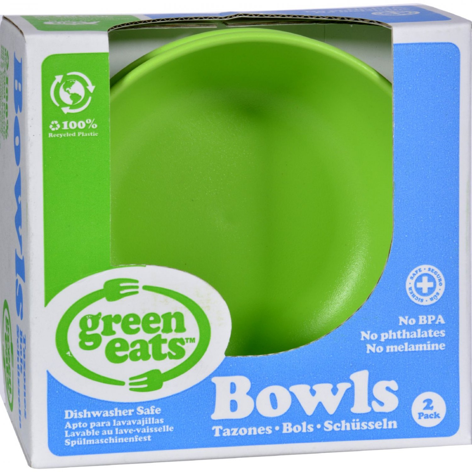 Green Toys Bowls - Green - 2 ct