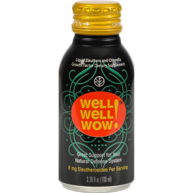 Sun Chlorella Well Well Wow - 3.38 oz - Case of 10