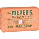 Mrs. Meyer's Bar Soap - Geranium - 5.3 oz - Case of 12