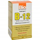 Bio Nutrition B12 Sublingual - 6000 mcg - 50 Tablets