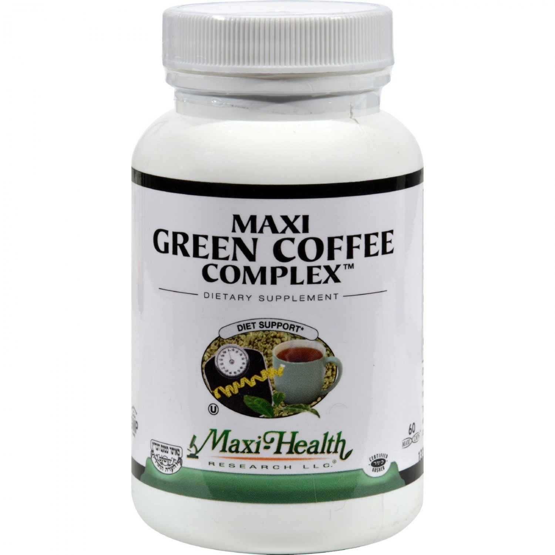 Maxi Health Kosher Vitamins Maxi Green Coffee Complex - 60 Capsules