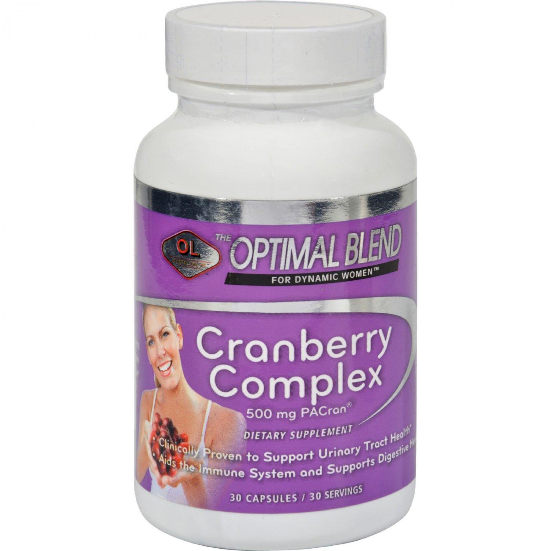 Optimal Blend Cranberry Complex - 30 Capsules