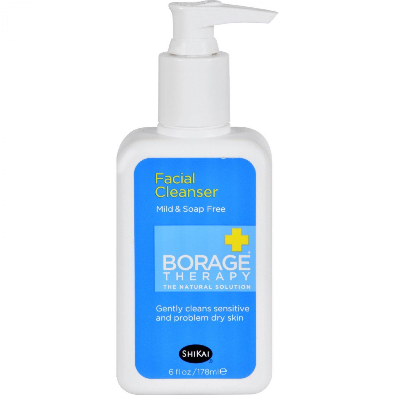 Shikai Products Borage Facial Cleanser - 6 oz