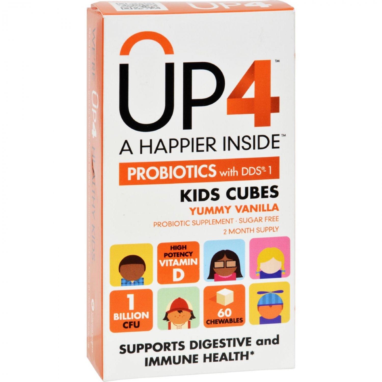 Up4 Probiotics - DDS1 Kids Cubes - 60 Chewables