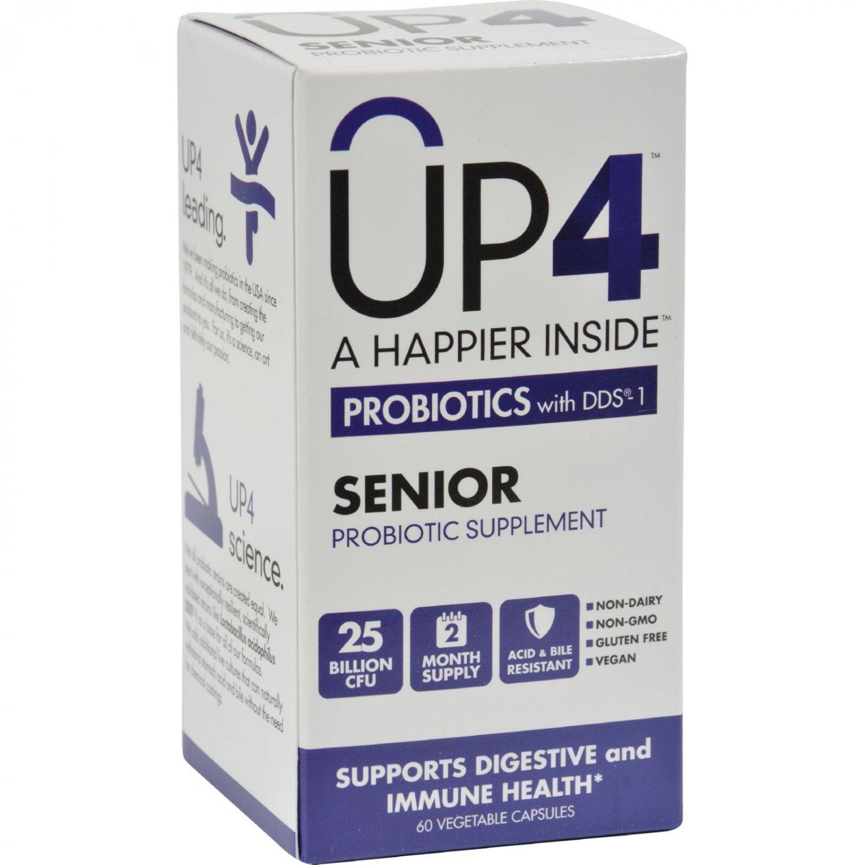Up4 Probiotics - DDS1 Senior - 60 Vegetarian Capsules