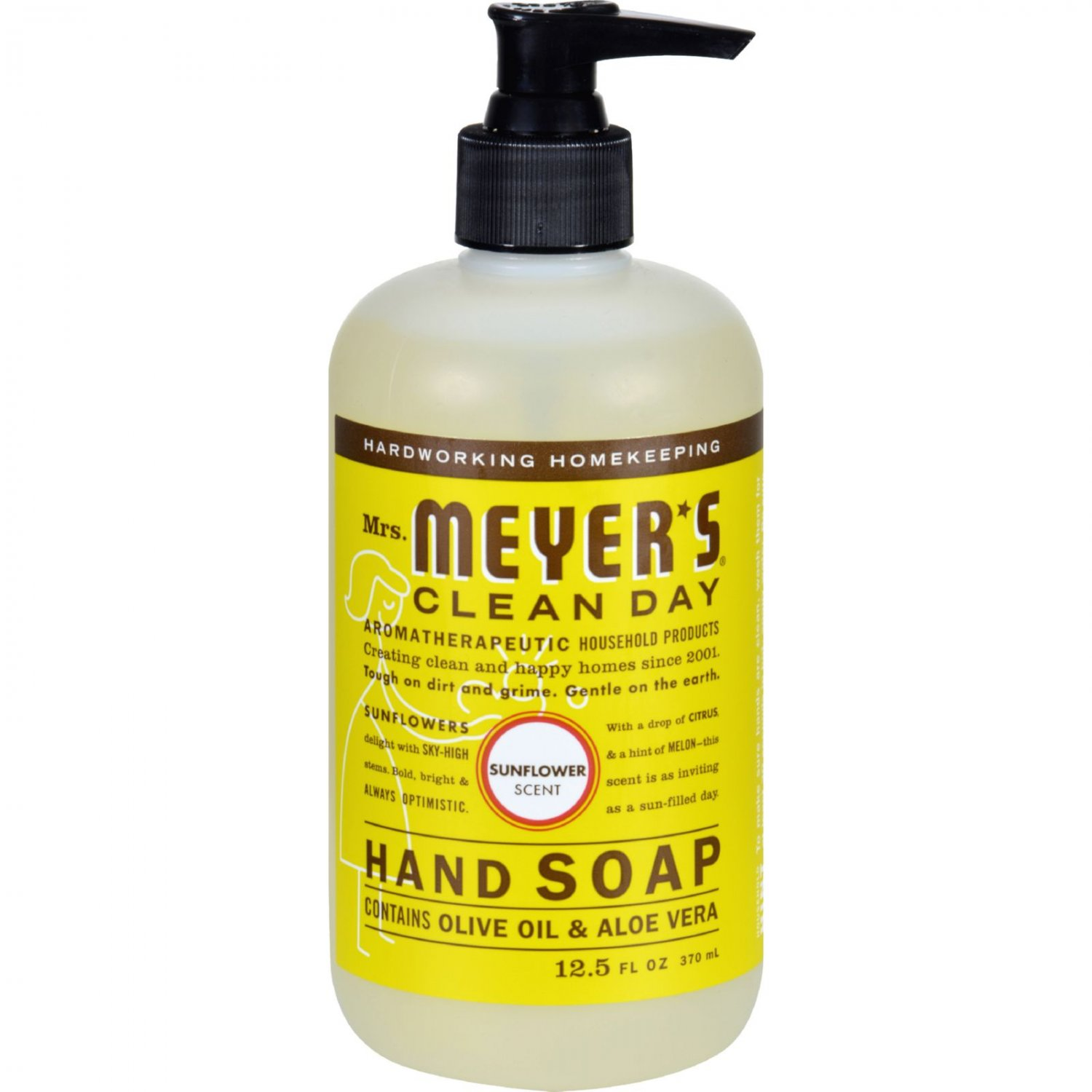 Mrs. Meyer's Liquid Hand Soap - Sunflower - Case of 6 - 12.5 fl oz