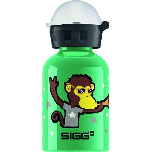 Sigg Water Bottle - Go Team - Monkey Elephant - .3 Liters - Case of 6