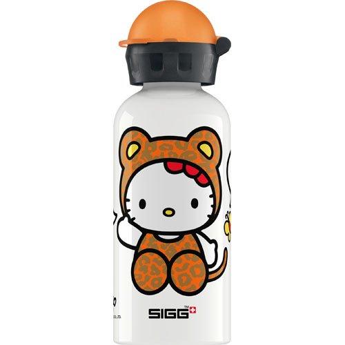 Sigg Water Bottle - Hello Kitty Leopard - .4 Liters