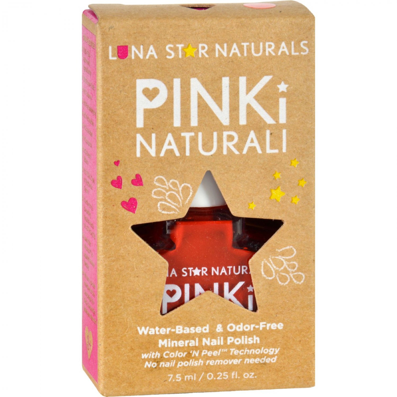 Lunastar Pinki Naturali Nail Polish - Nashville (Red) - .25 fl oz