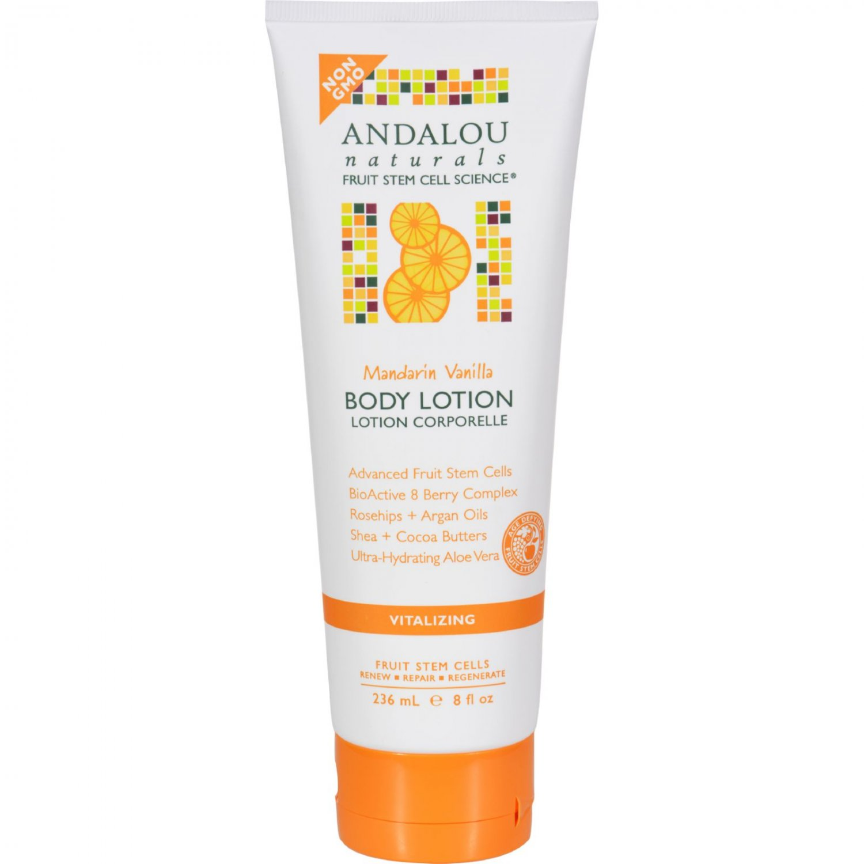 Andalou Naturals Body Lotion - Mandarin Vanilla Vitalizing - 8 fl oz