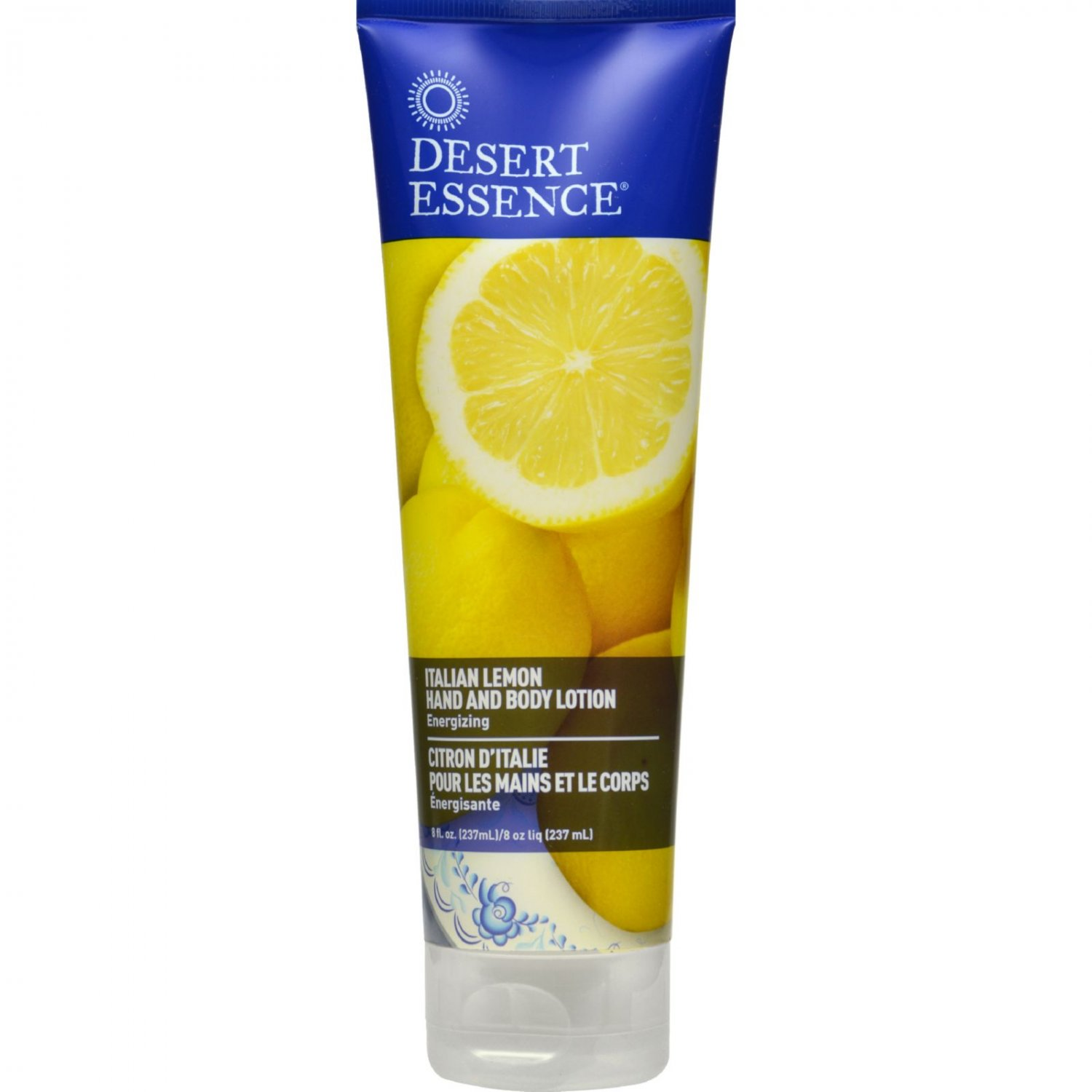 Desert Essence Hand and Body Lotion - Italian Lemon - 8 fl oz