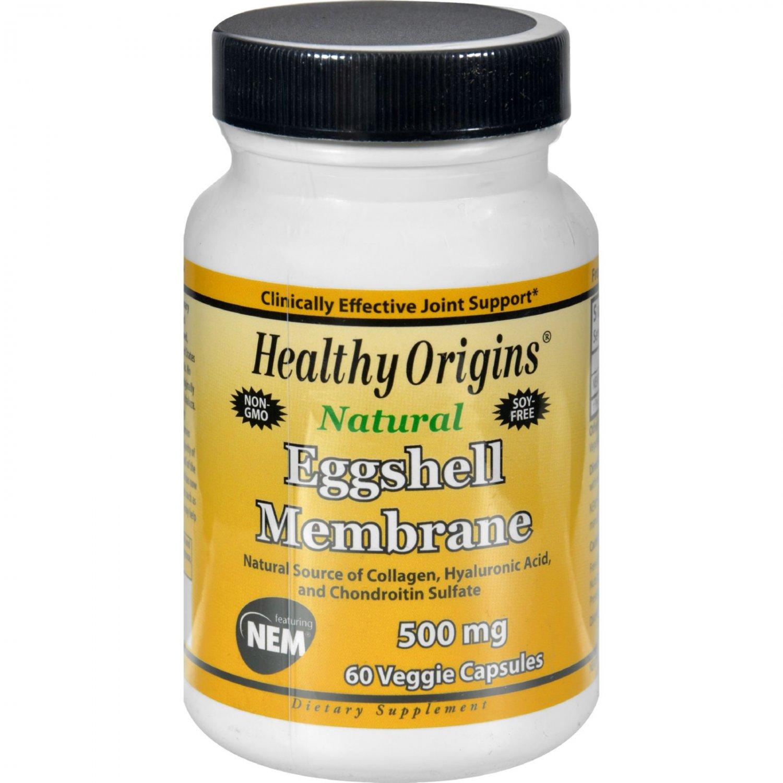 Healthy Origins Eggshell Membrane - 500 mg - 60 Vegetarian Capsules