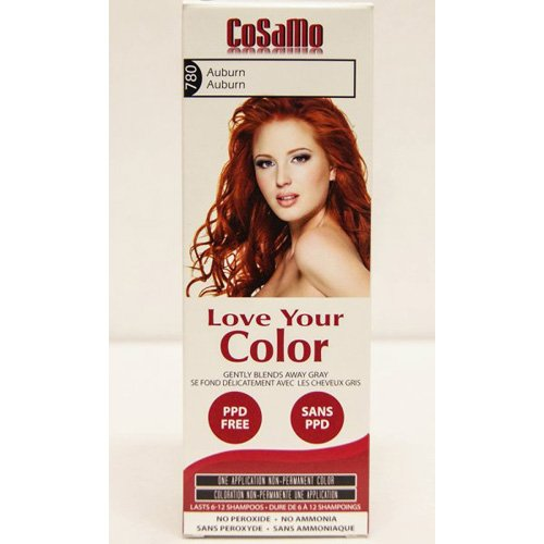 Love Your Color Hair Color - CoSaMo - Non Permanent - Auburn - 1 Count