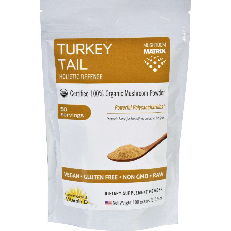 Mushroom Matrix Turkey Tail - Organic - Powder - 3.57 oz