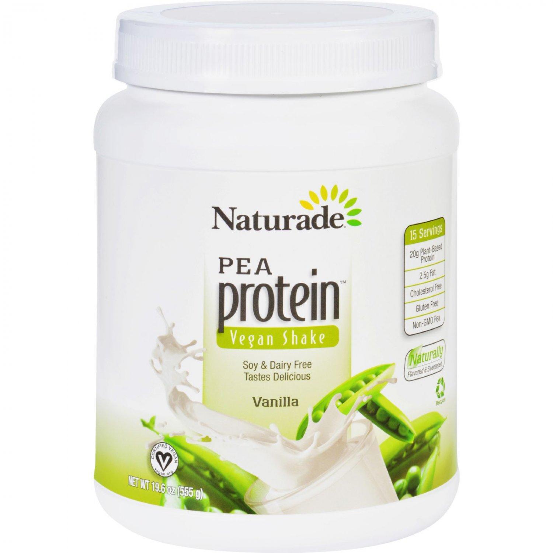 Naturade Pea Protein - Vanilla - Jug - 19.57 oz