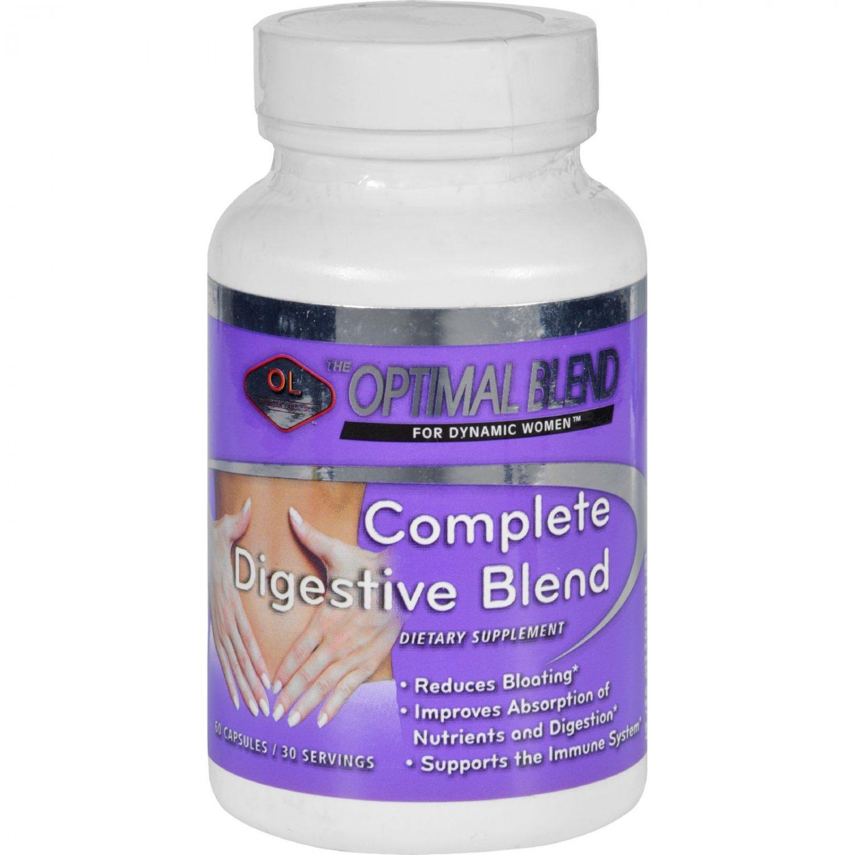 Optimal Blend Digestive Blend - Complete - 60 Capsules