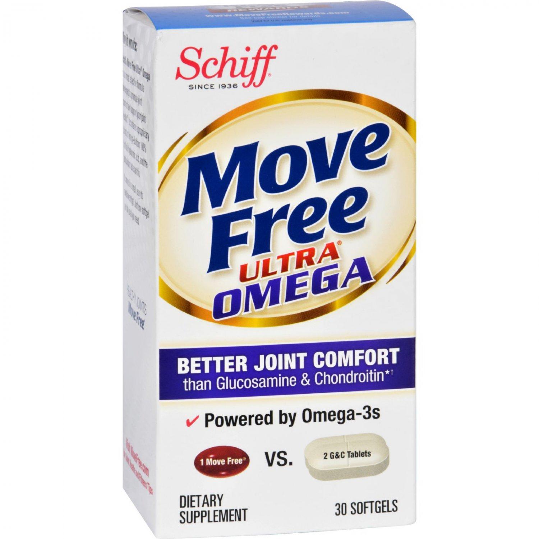 Schiff Vitamins Move Free - Ultra Omega - 30 Softgels