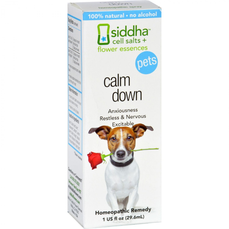 Siddha Flower Essences Calm Down - Pets - 1 fl oz