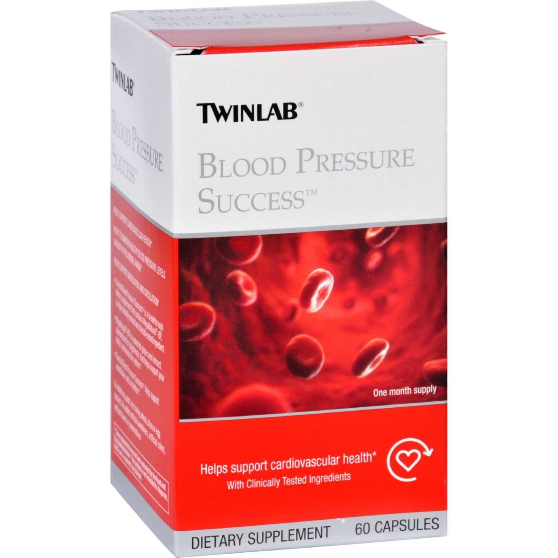 Twinlab Blood Pressure Success - 60 Capsules