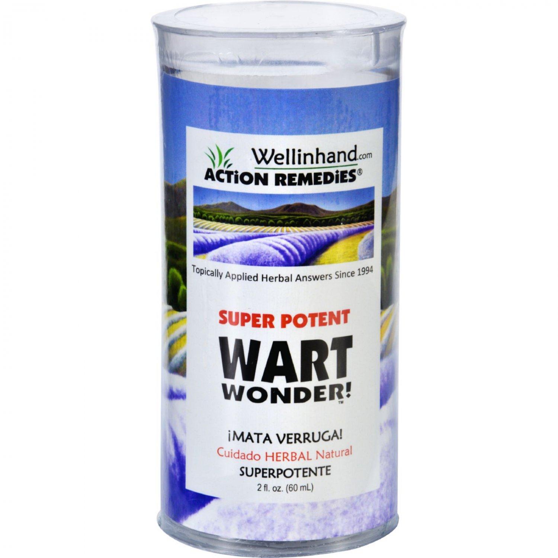 Wellinhand Action Remedies Wart Wonder - Super Potent - 2 fl oz