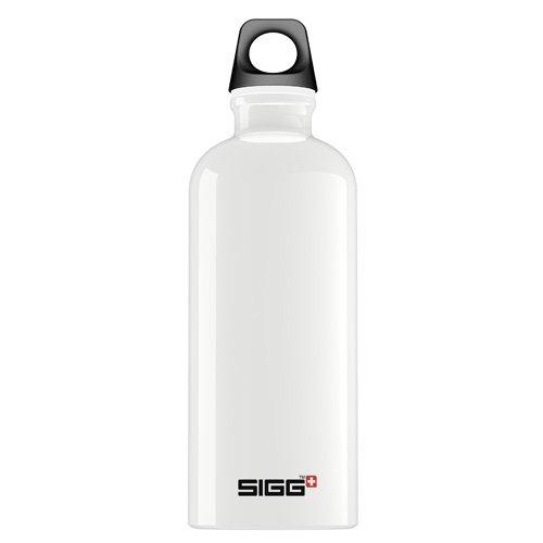 Sigg Water Bottle - Traveller - White - .6 Liter