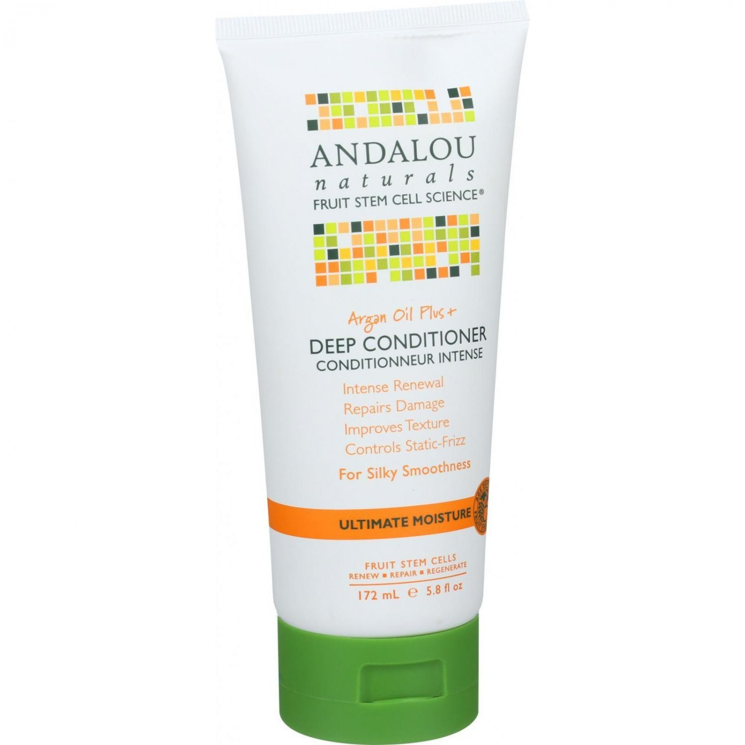 Andalou Naturals Conditioner - Ultimate Moisture Deep - Argan Oil Plus - 6 oz