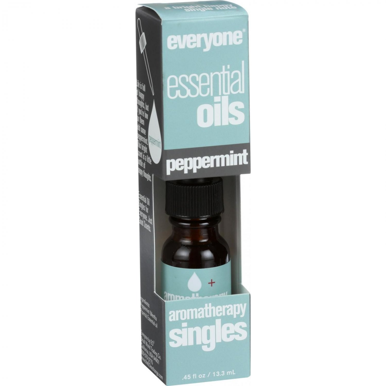 EO Products Everyone Aromatherapy Singles - Essential Oil - Peppermint - .5 oz