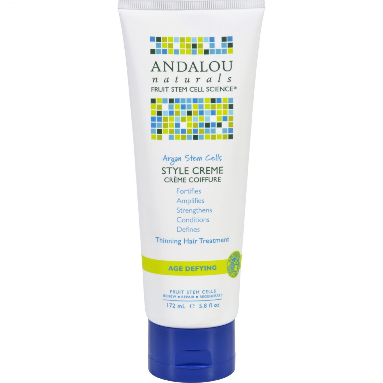 Andalou Naturals Style Creme - Argan Stem Cells - 5.8 oz