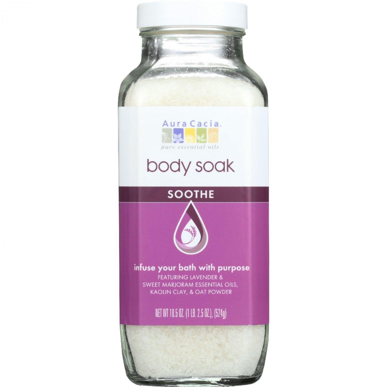 Aura Cacia Body Soak - Soothe - 18.5 oz - 1 each