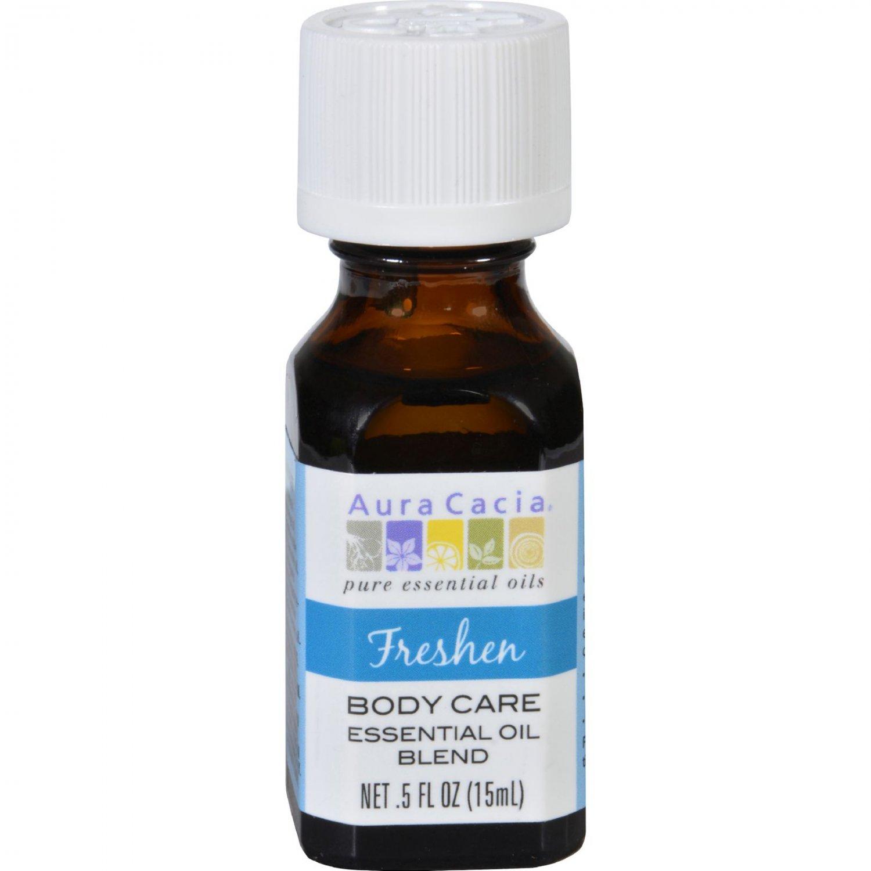 Aura Cacia Essential Oil Blend - Body - Freshen - .5 oz