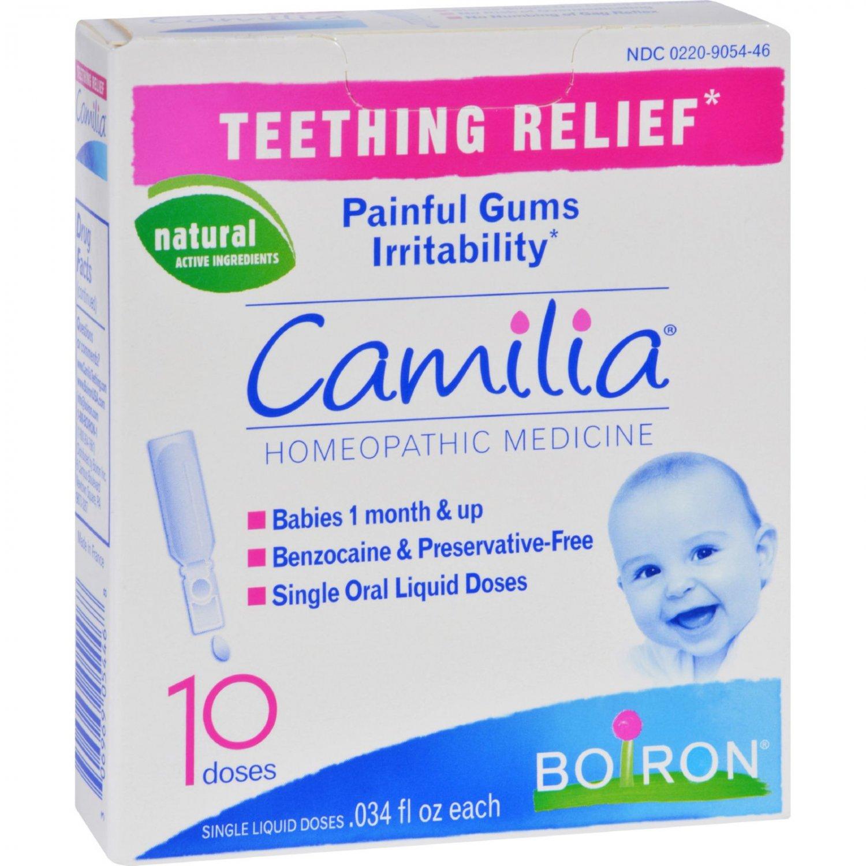 Boiron Camilia - Teething Relief - 10 Doses
