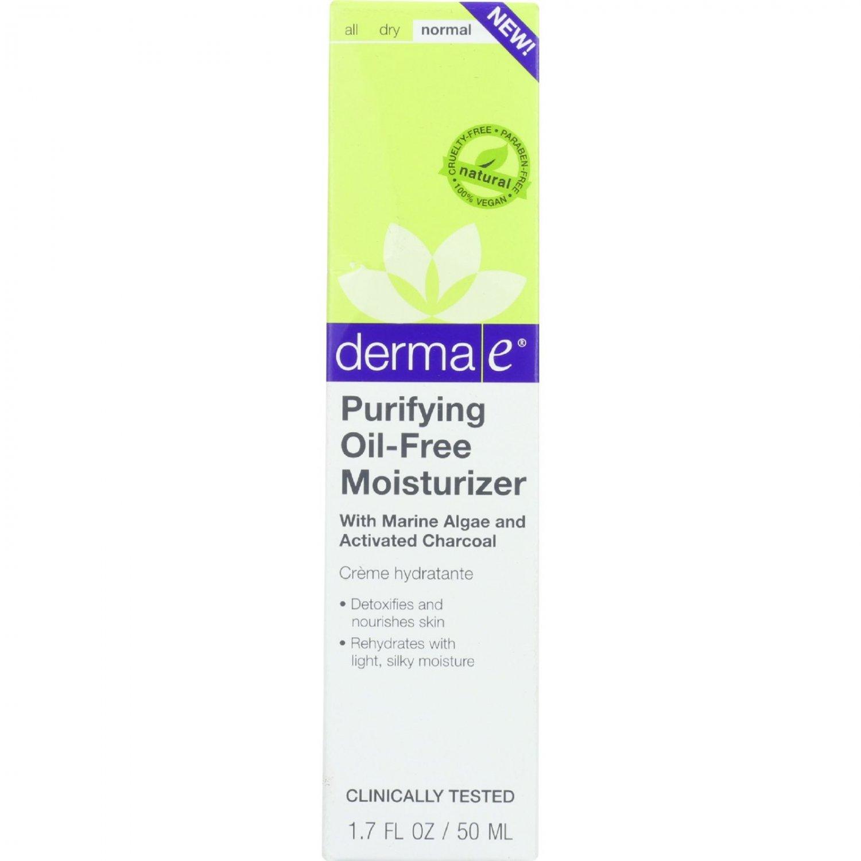 Derma E Moisturizer - Purifying - Oil-Free - 1.7 oz - 1 each